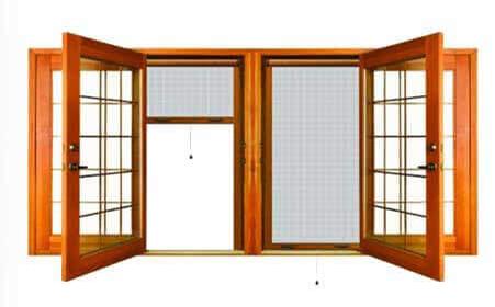 انواع توری پنجره های دوجداره upvc