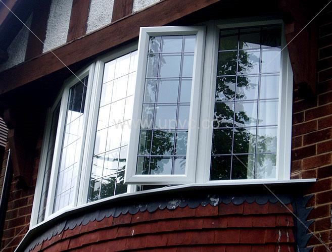 پنجره upvc دو لنگه بازشو يا فرانسوی