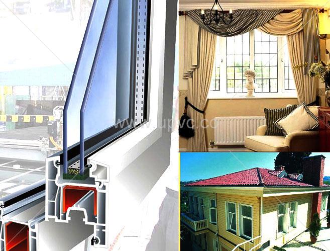 پنجره upvc در بالکنی و سرویسی