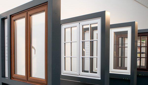 درب و پنجره لمینت ماه گونی