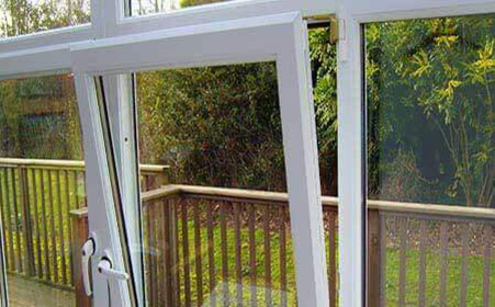 پنجره upvc دو حالته