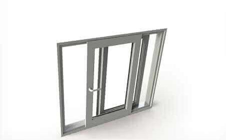پنجره upvc فولكس واگنی